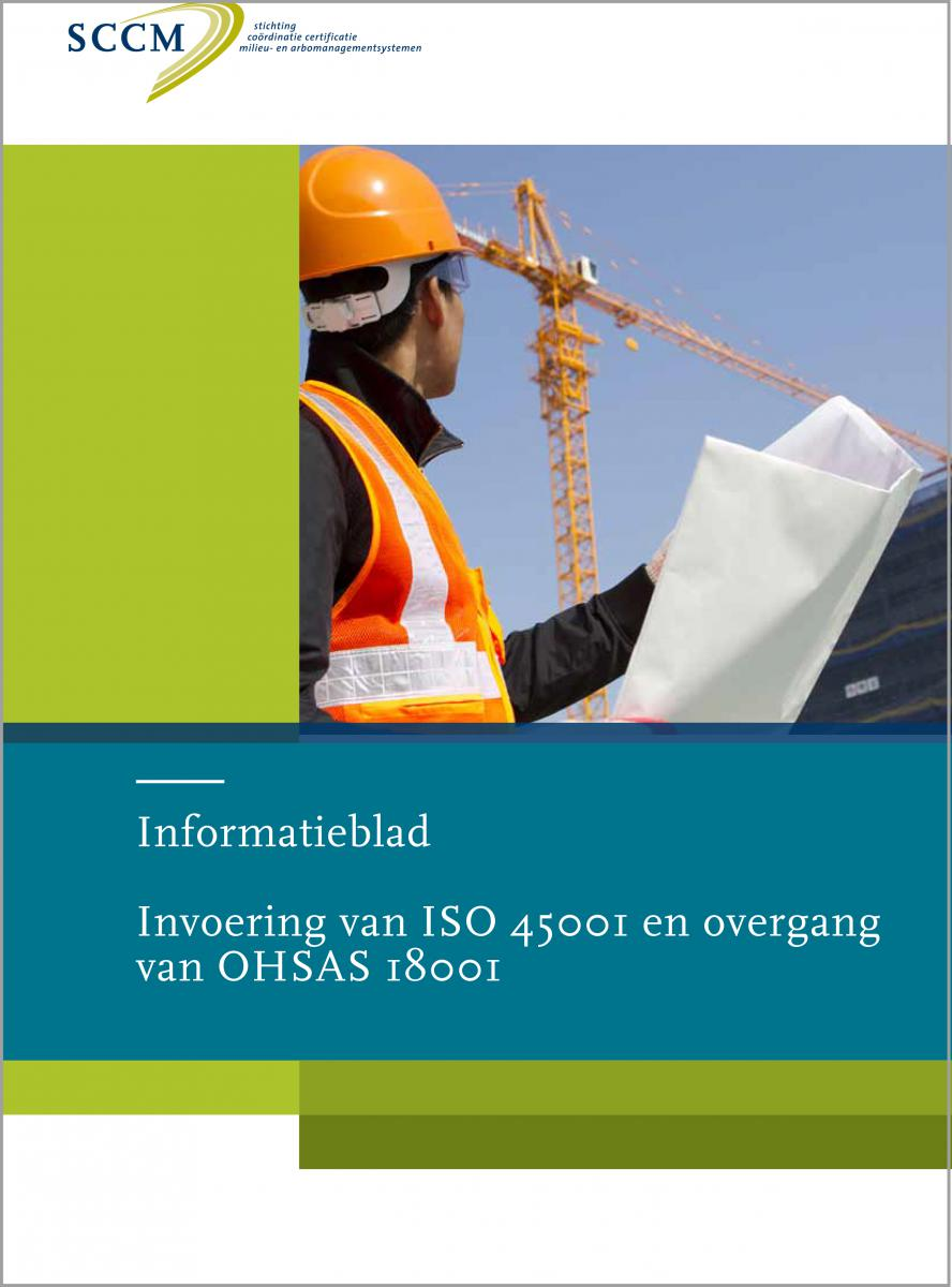 BA06 N170103 Infoblad invoering ISO 45001 13apr17
